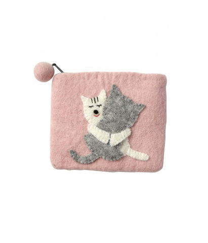 Kitty Love Felt Purse