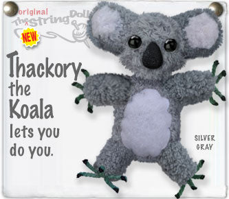 Thackory the Koala Keychain