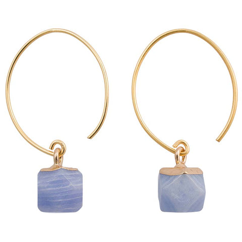 Clara Earrings/Sky Blue