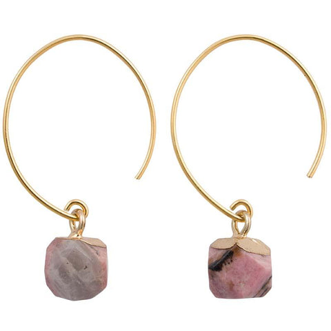 Clara Earrings Terracotta