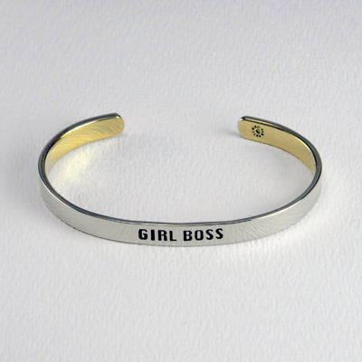 Girl Boss Stackable Cuff