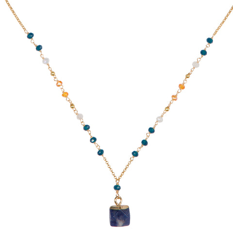 Nicki Necklace/Blue