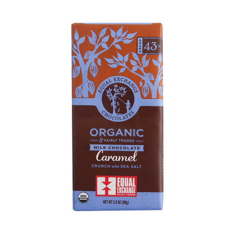 Organic Milk Chocolate Caramel Crunch