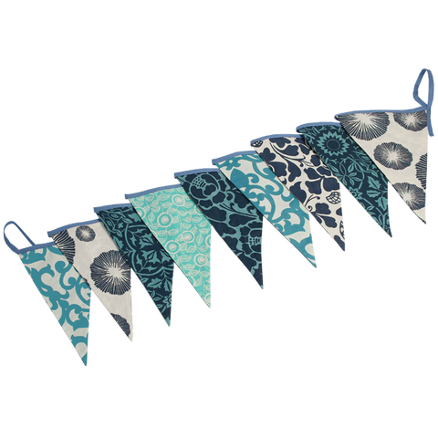Bunting Flag Banner Blue