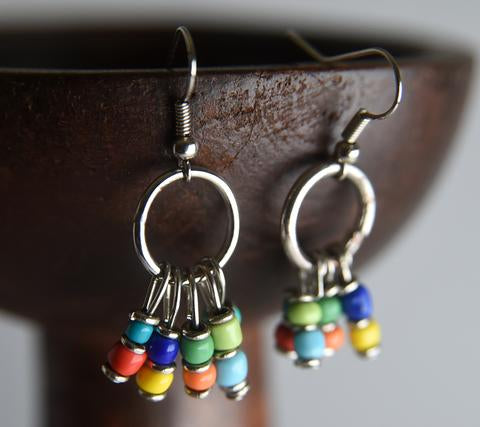Rangi Kioo Earrings Nyota