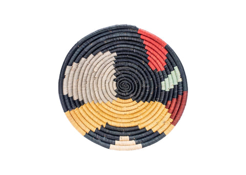Medium Mod Abstract Round Basket