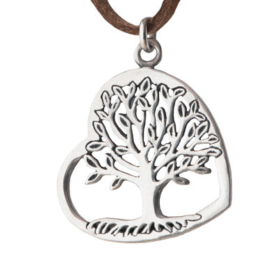 Reclining Tree Pendant