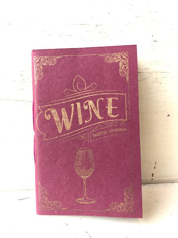 Wine Tasting Pocket Journal