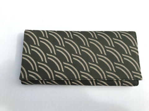 Fancy Long Screen Print Wallet