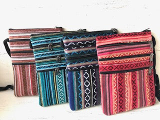 Striped Passport Purse