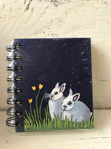Small Notebook Bunnies