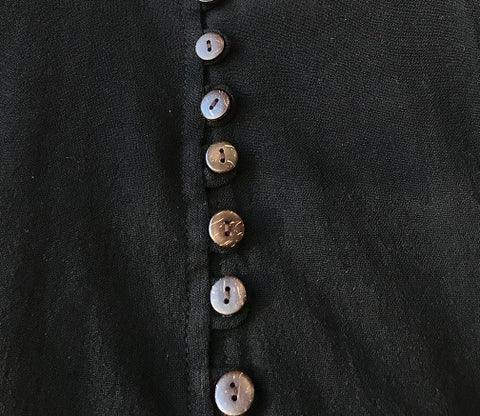 V-Neck Multi-button Shirt