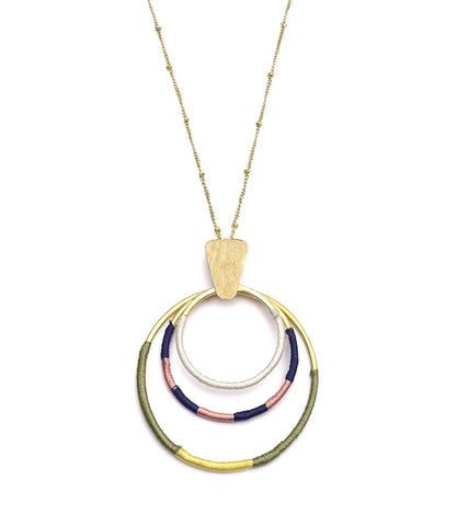 Dusk Hoops Kaia Necklace