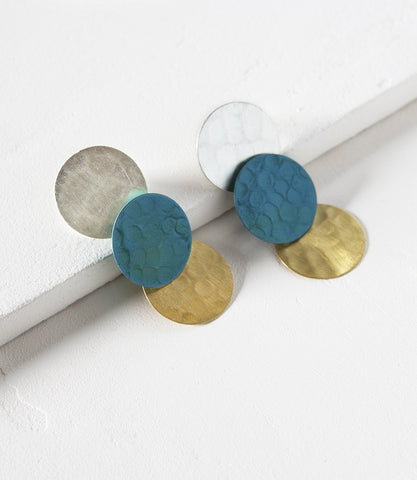 Nihira Multi Coin Earrings