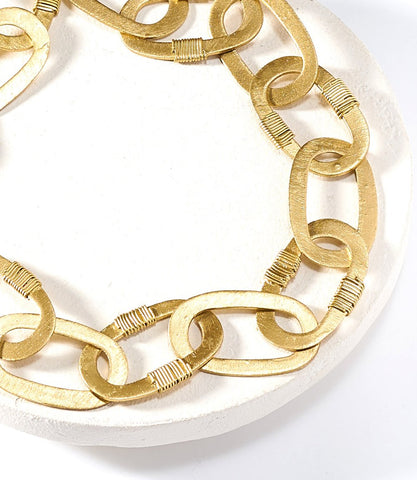 Kaia Gold Link Necklace