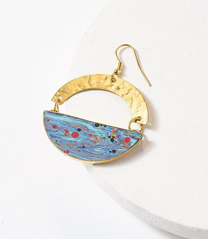 Ria Multi Swirl Earrings