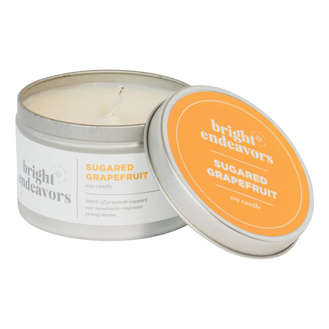 Sugared Grapefruit Soy Candle