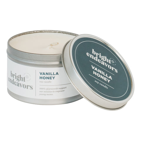Vanilla Honey Soy Candle