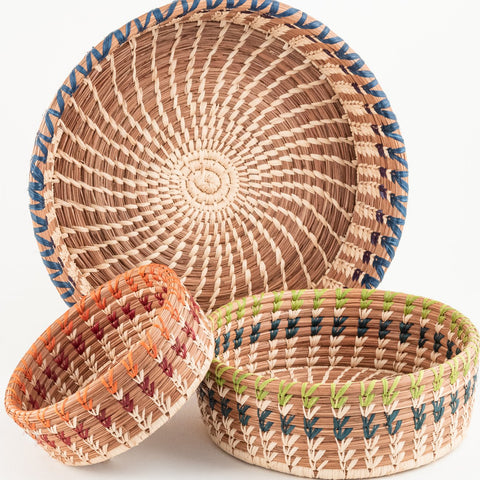 Large Marisol Pine Needle Basket