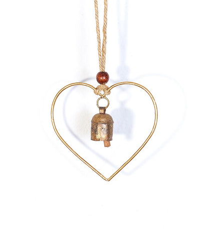 Air Element Bell Chime Heart