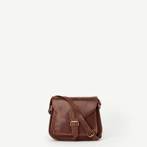 Myra Leather Satchel