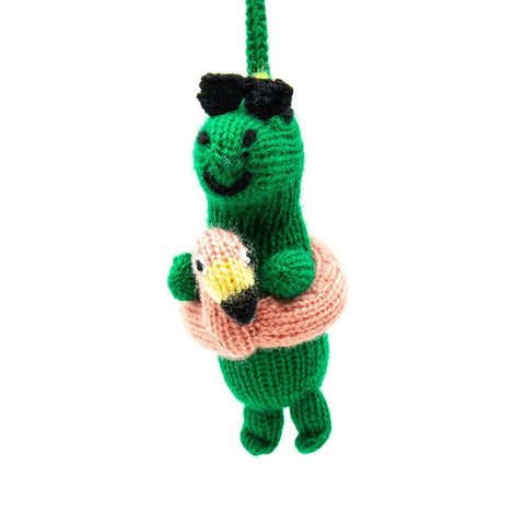 Party Dinosaur Ornament