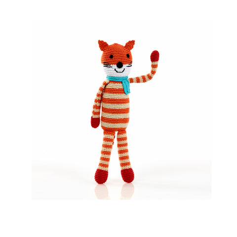 Fox Rattle Stuffed Animal