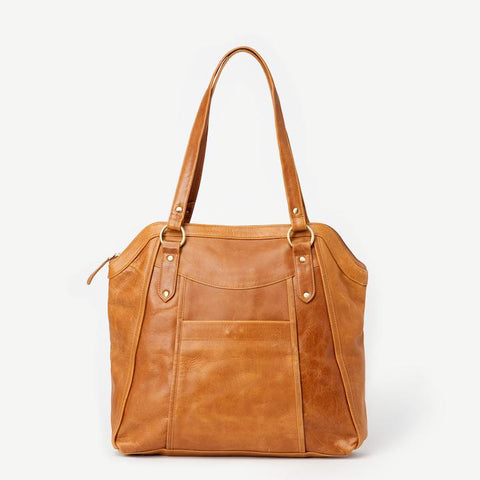 Keya Leather Tote