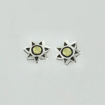 Sun Post Earrings