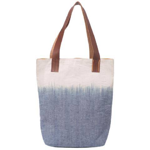 Waves Ikat Shoulder Bag Blue