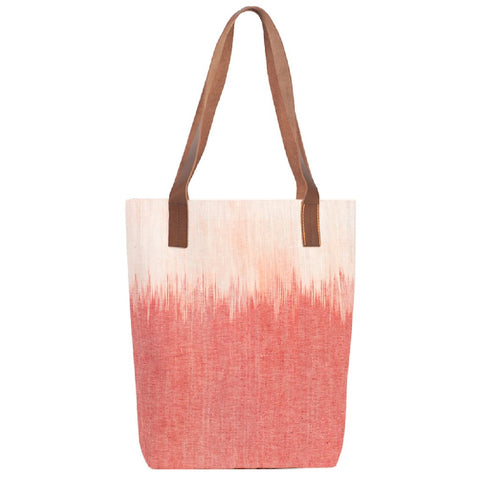 Waves Ikat Shoulder Bag Pink