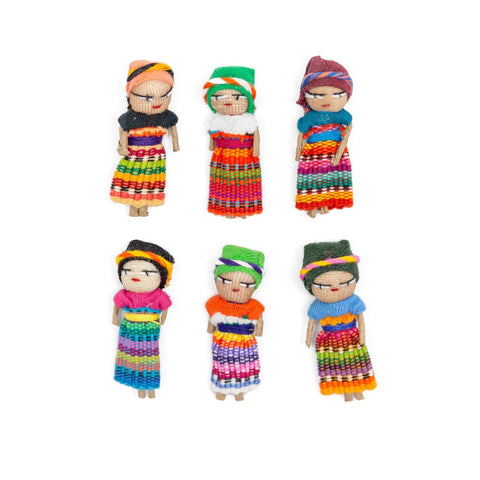 "2"" Worry Doll"