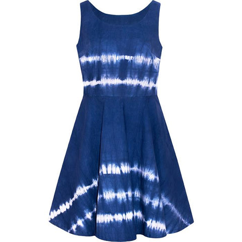 Ava Dress Tides Navy