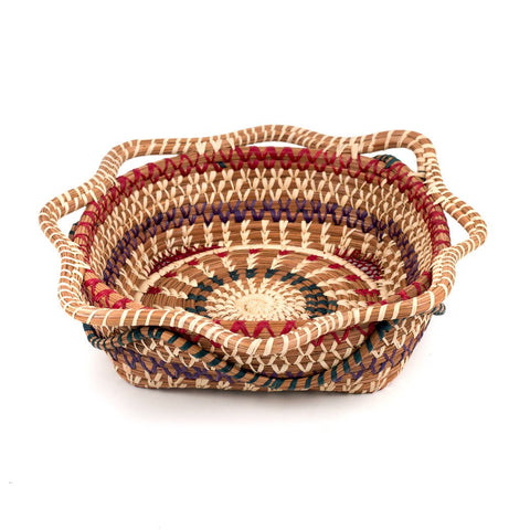 Butterfly Pine Needle Basket
