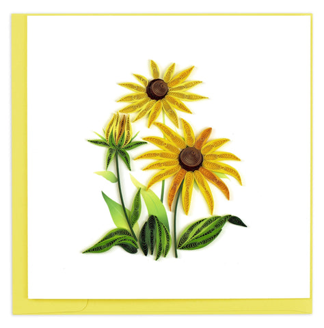 Quilled Black-Eyed Susan Card