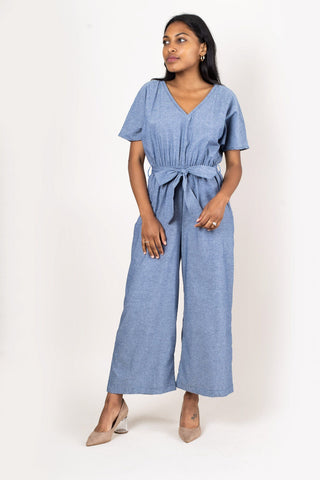 Rachana Jumpsuit Chambray