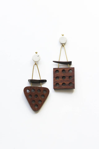 Coconut Shapes Earrings