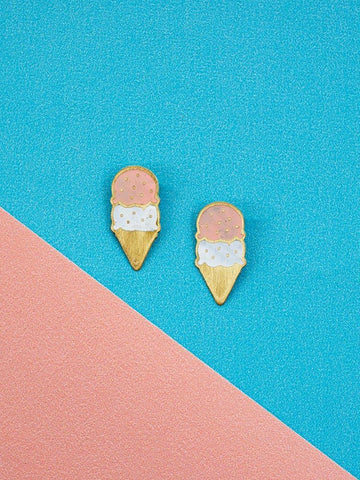 Ice Cream Studs Neapolitan