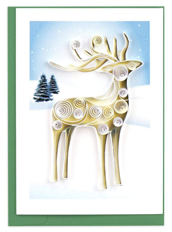 Quilled Reindeer Gift Enclosure