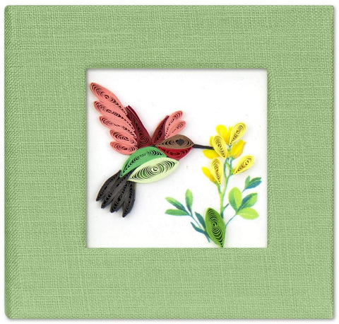 Hummingbird Sticky Notebook Cover