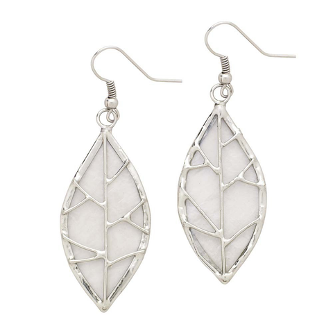Leaf Capiz Earrings