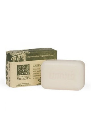 Green Tea Vegetable Oil Soap