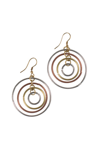 Shifting Circles Earrings