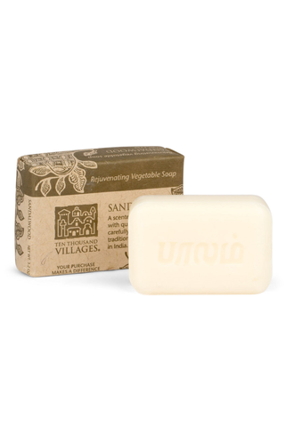 Sandalwood Vegetable Oil Soap