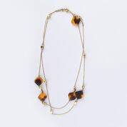 Margot Necklace Tortoiseshell