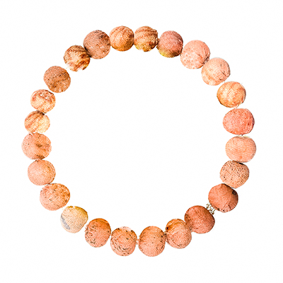Kantha Chromatic Bracelet Salmon