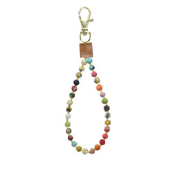 Beaded Loop Bag Tag