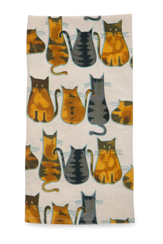 Cats Dish Towel