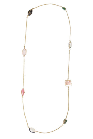 Rosy Elements Necklace