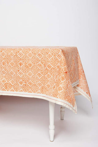 Mosaic Rose Tablecloth
